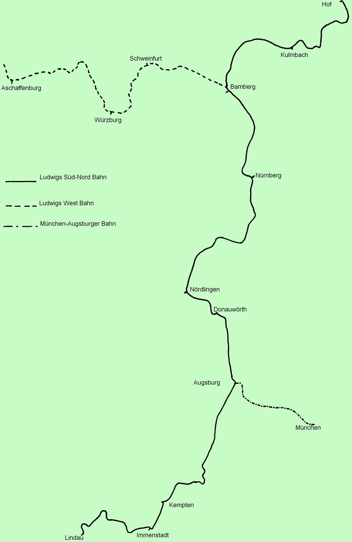 Ludwig Süd Nord Bahn Wikipedia