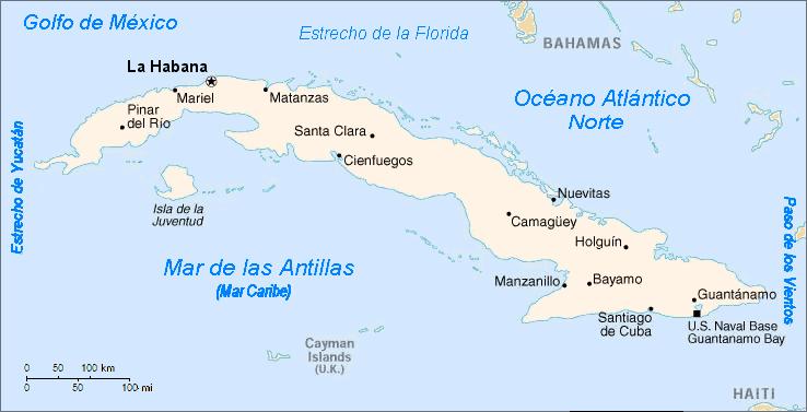 """Résultat de recherche d'images pour """"cuba mapa en español"""""""