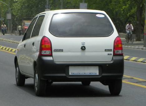 Description Maruti Suzuki Alto rear.jpg