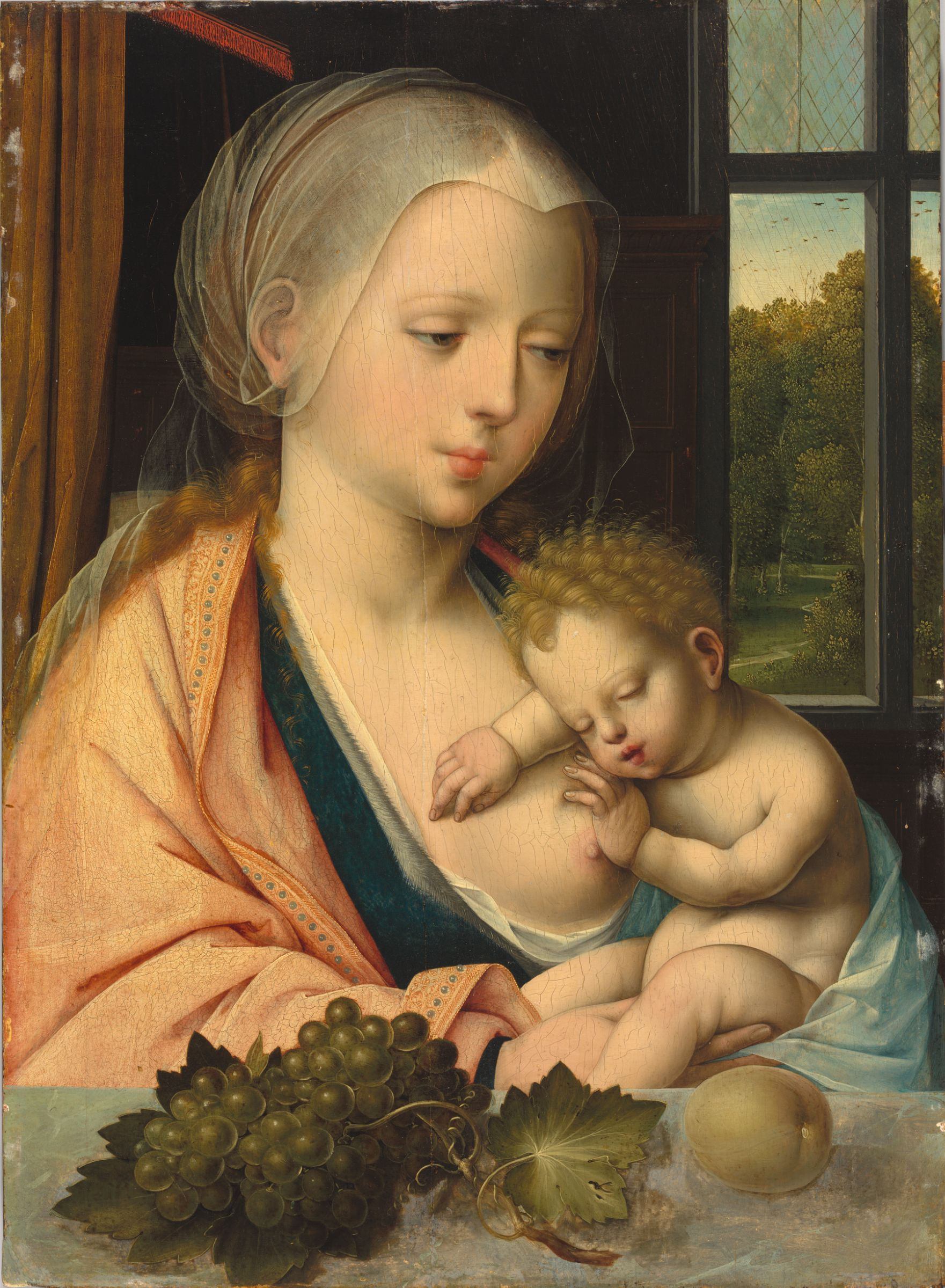 https://upload.wikimedia.org/wikipedia/commons/f/f5/Master_with_the_Parrot_-_Virgin_and_Child_%28Fogg_Museum%29.jpeg