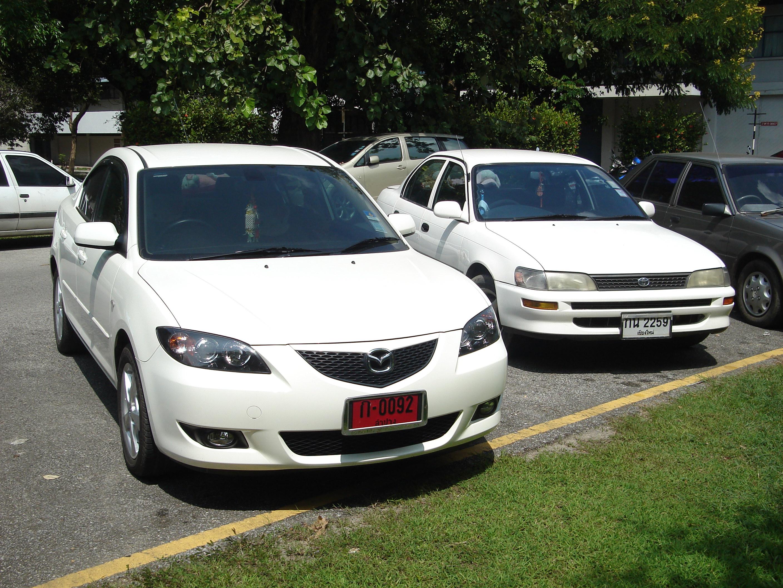 white Mazda3 image