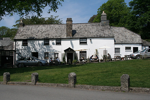 Meavy, The Royal Oak - geograph.org.uk - 805947