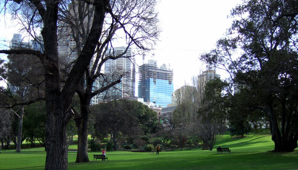 Treasury Gardens - Wikipedia