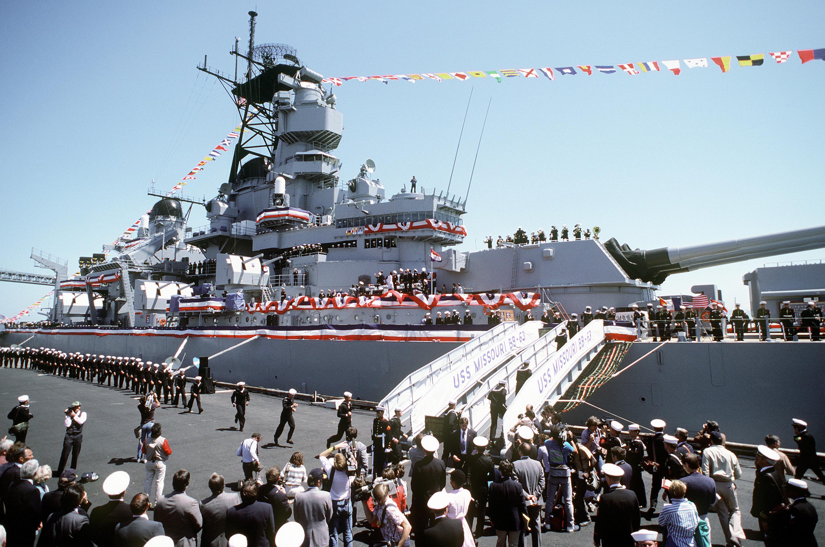 Uss Missouri Bb 63 Military Wiki