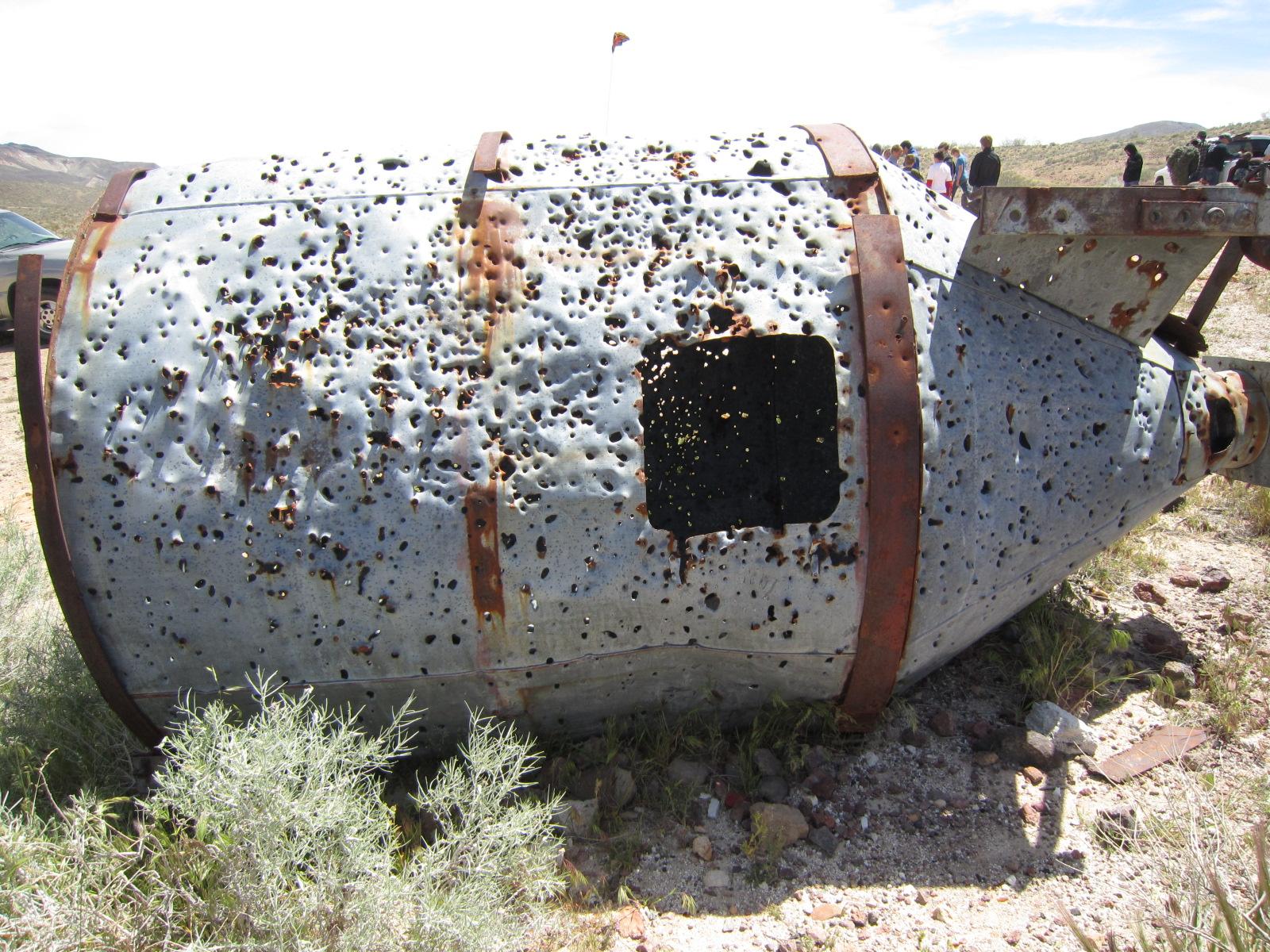 .22 Caiber Steel Gun Target Gun Target New From Reaction Targets