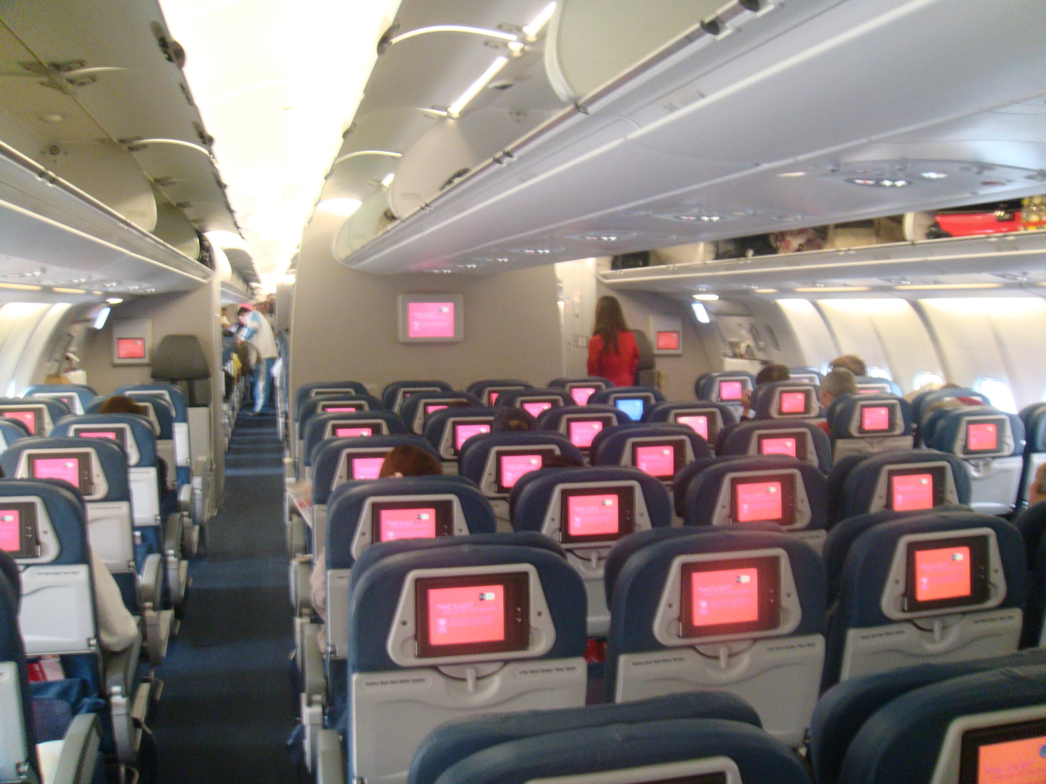 File Nwa A330 300 Economy Class Jpg Wikimedia Commons