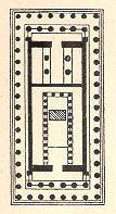 תרשים קרקע של מקדש הפרתנון