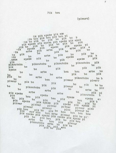 Poesia concreta – Wikipédia, a enciclopédia livre