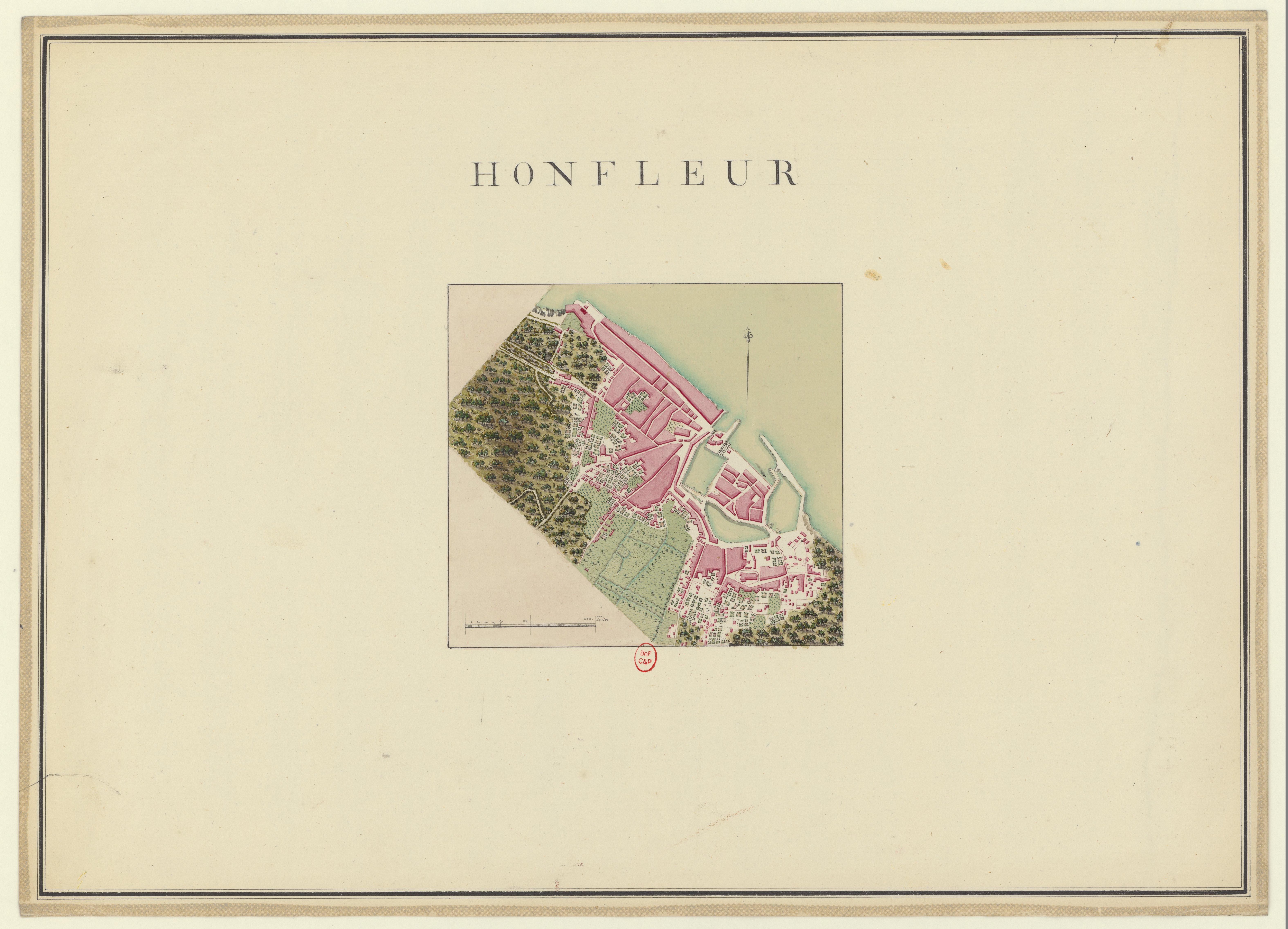 File Plans Des Ports De France 1777 Honfleur Jpg Wikimedia Commons
