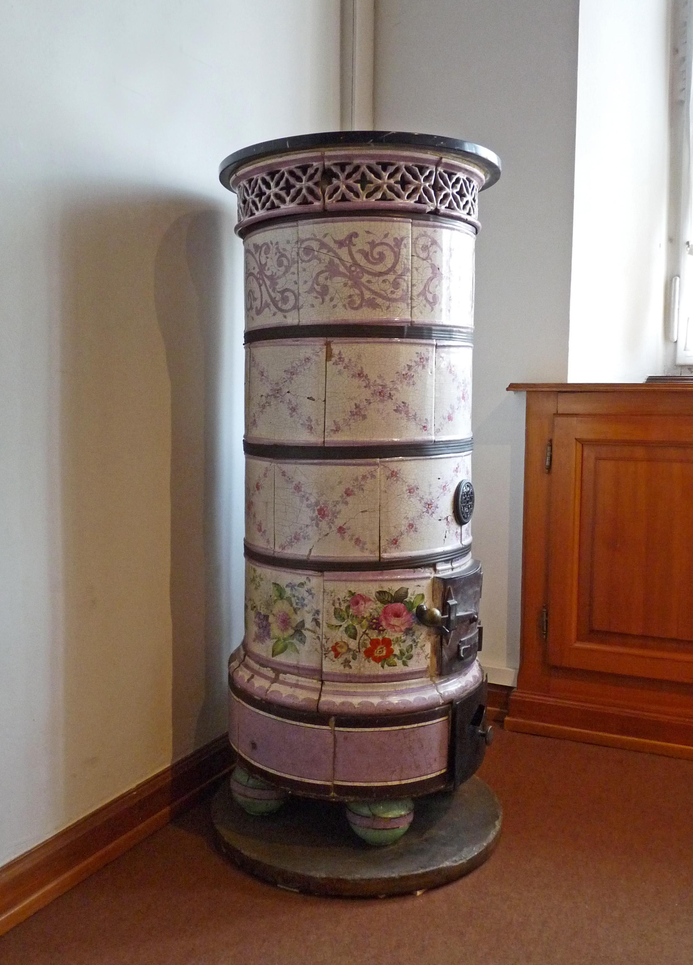 File po le rond en fa ence mus e alsacien de wikimedia commons - Lagostina poele ceramique ...