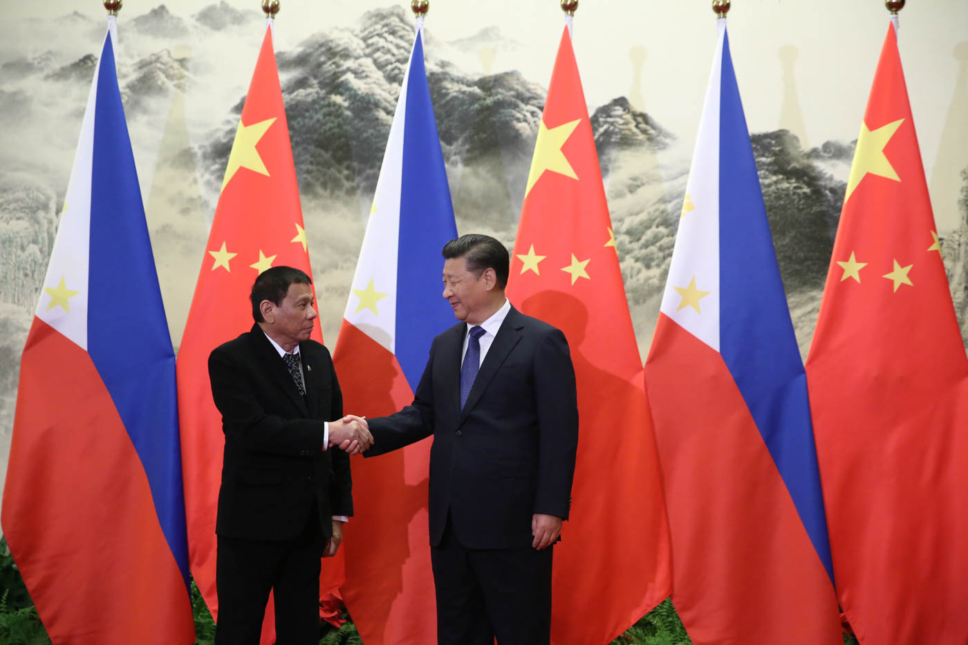 Image result for duterte xi jinping