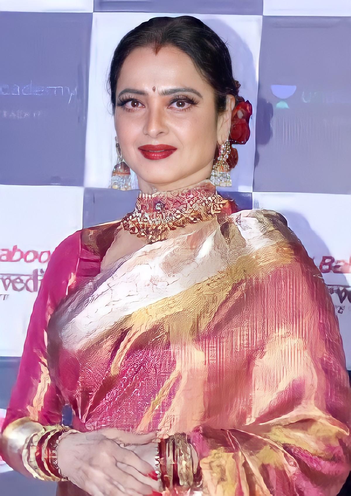 Rekha in 2019