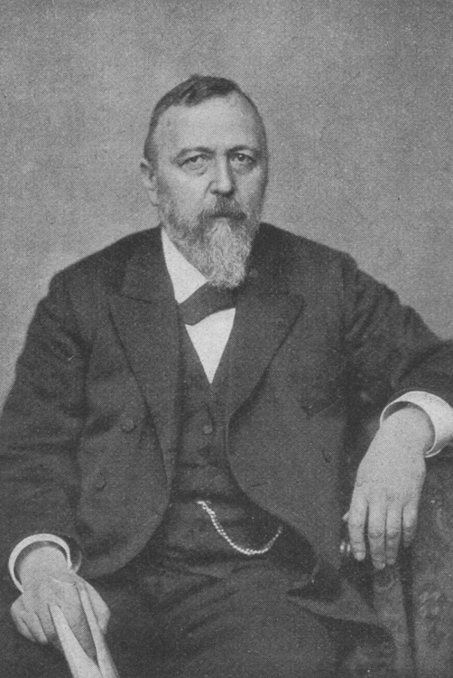 Retrato de Richard von Krafft-Ebing