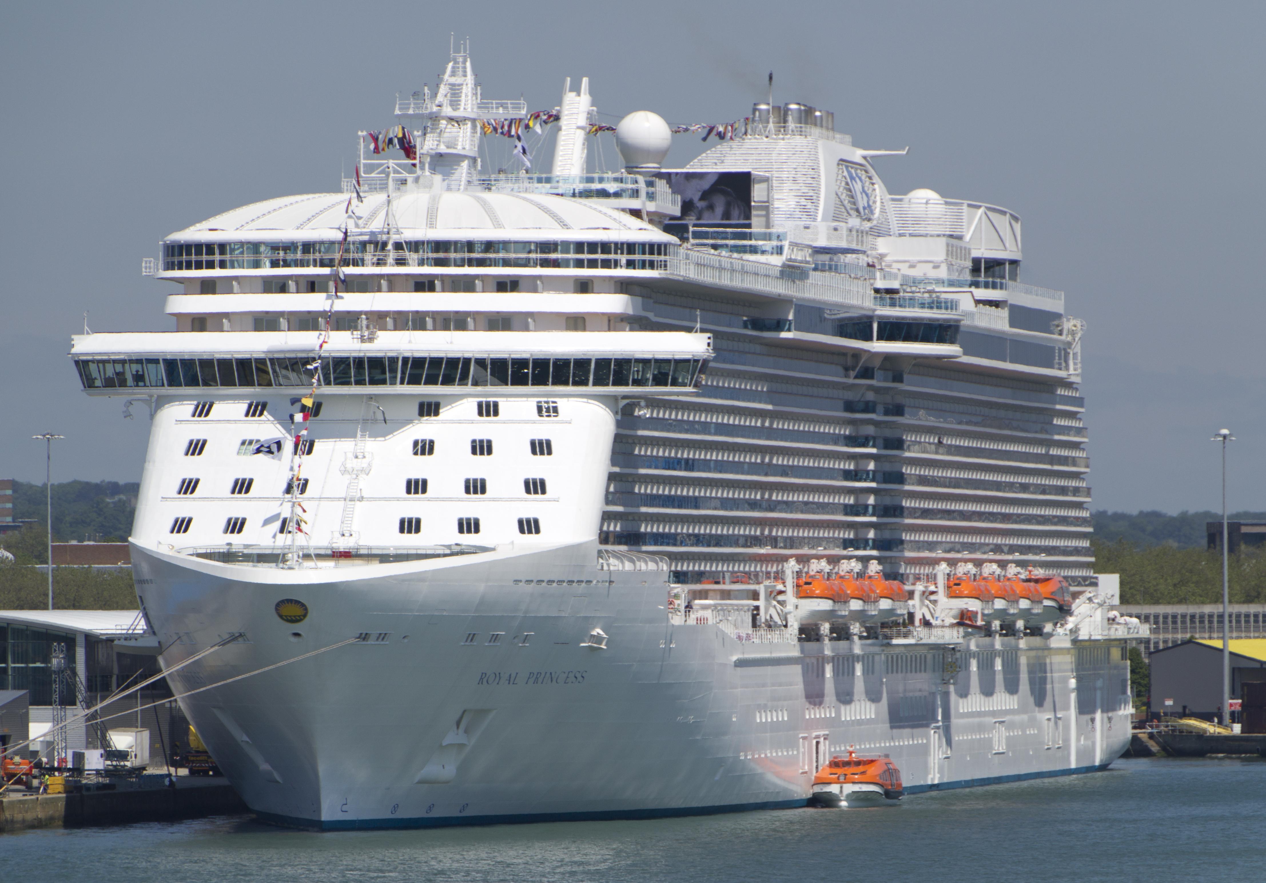 Royalclass Cruise Ship Wikiwand - Princess cruise ship fire