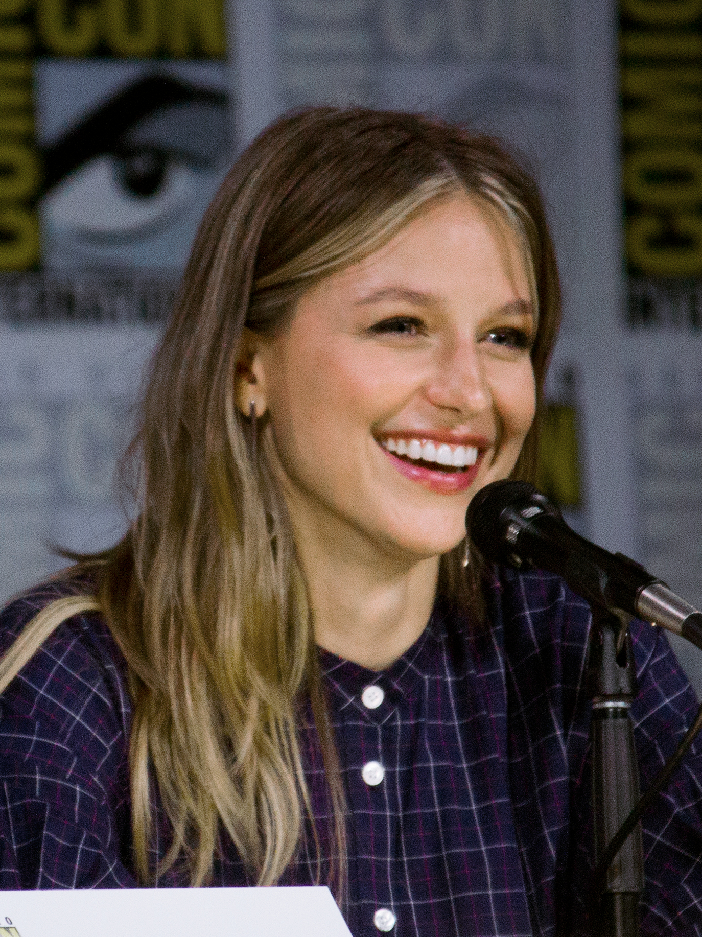 The 30-year old daughter of father Jim Benoist and mother Julie Benoist Melissa Benoist in 2019 photo. Melissa Benoist earned a  million dollar salary - leaving the net worth at 1 million in 2019