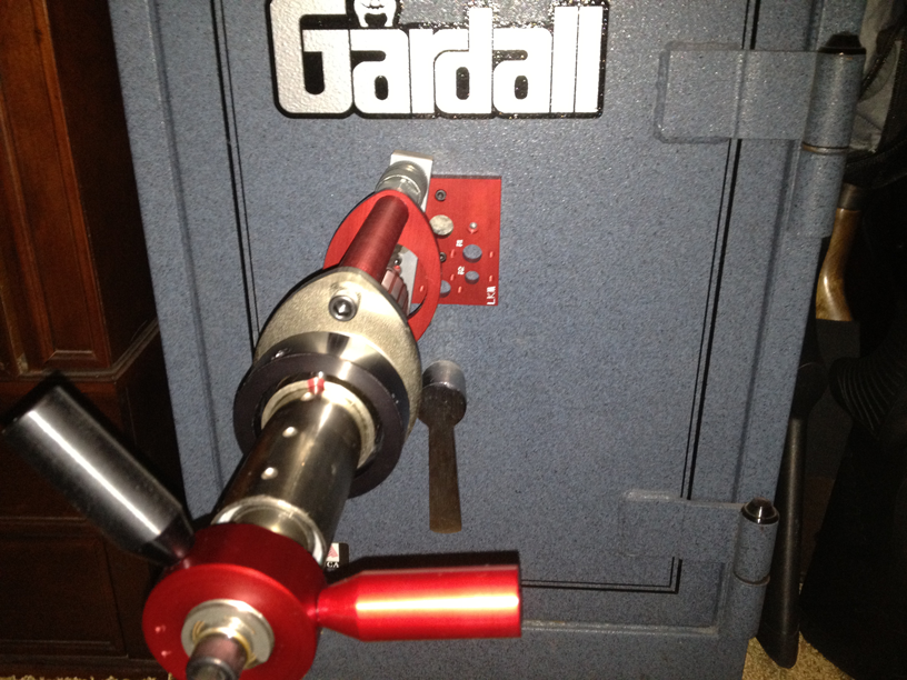 This is an example of gun safe