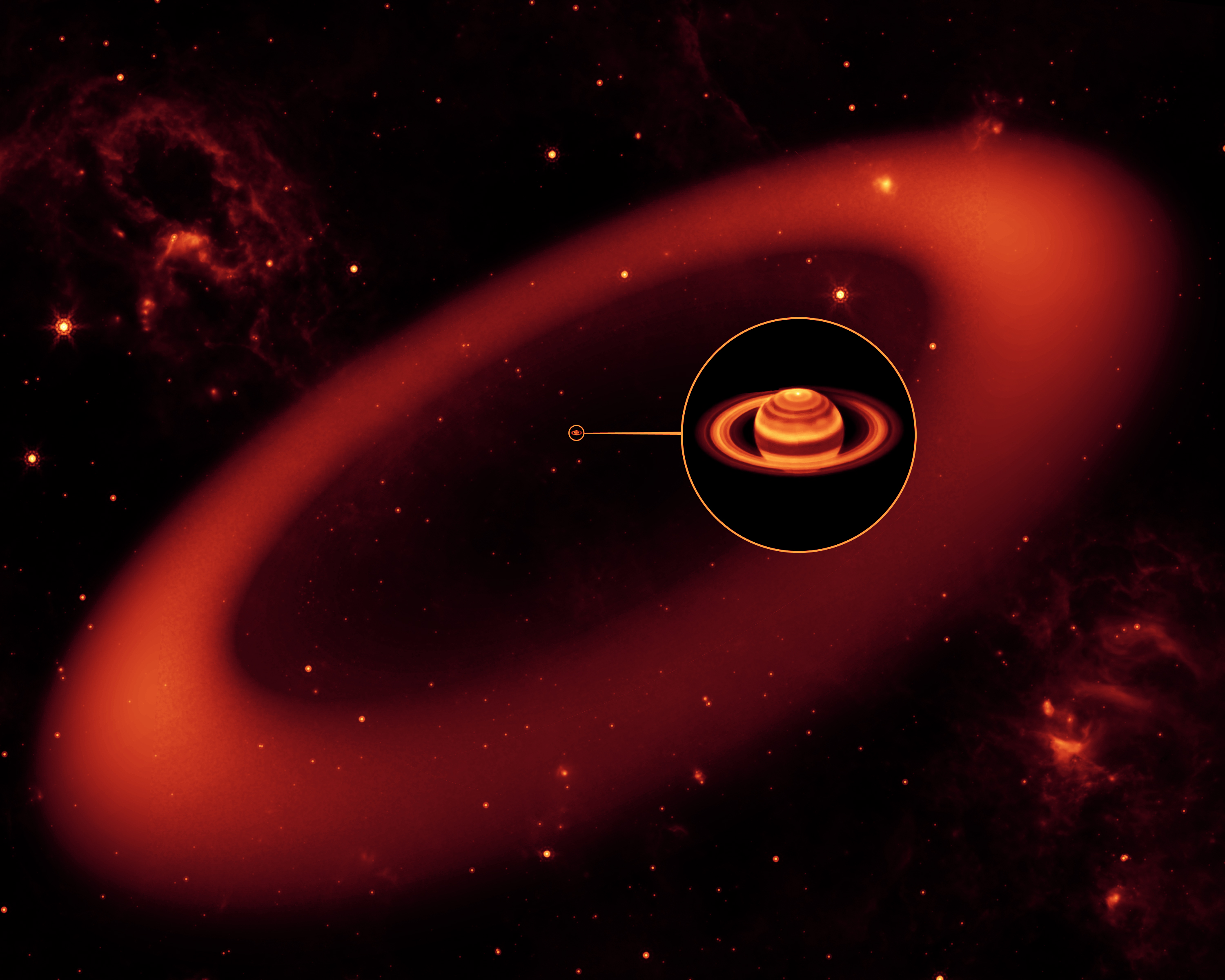 the biggest planet is saturn - photo #27