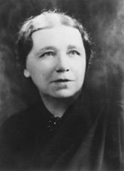 Hattie Caraway, first elected female senator