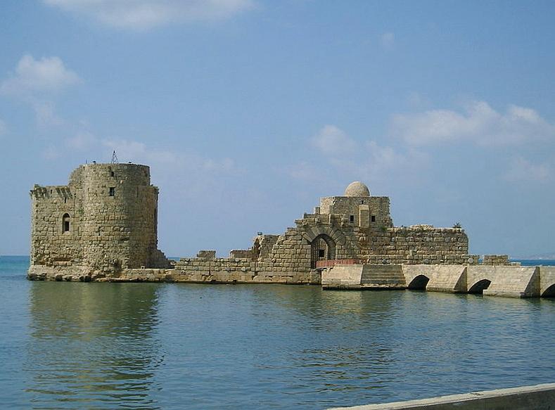 .:| أقدم مدن العالم |:. SidonSeaCastle