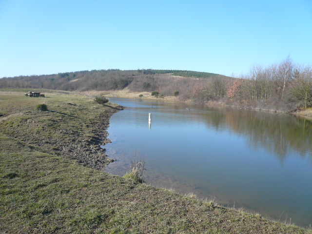 Silverhill Wood Country Park - Pond View - geograph.org.uk - 688246