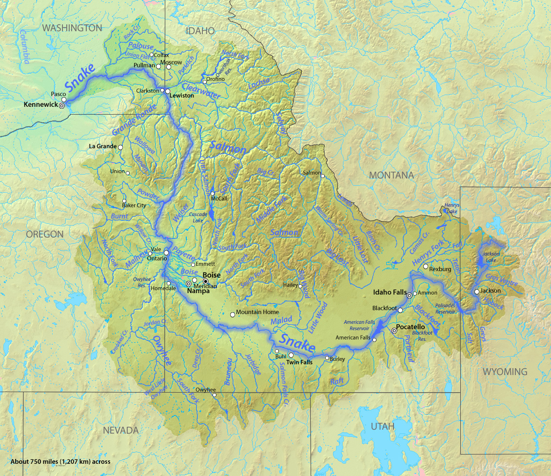 North flowing rivers in united states