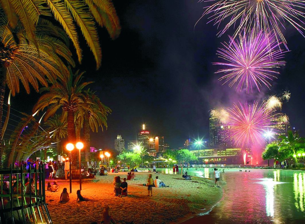 South Beach Fireworks