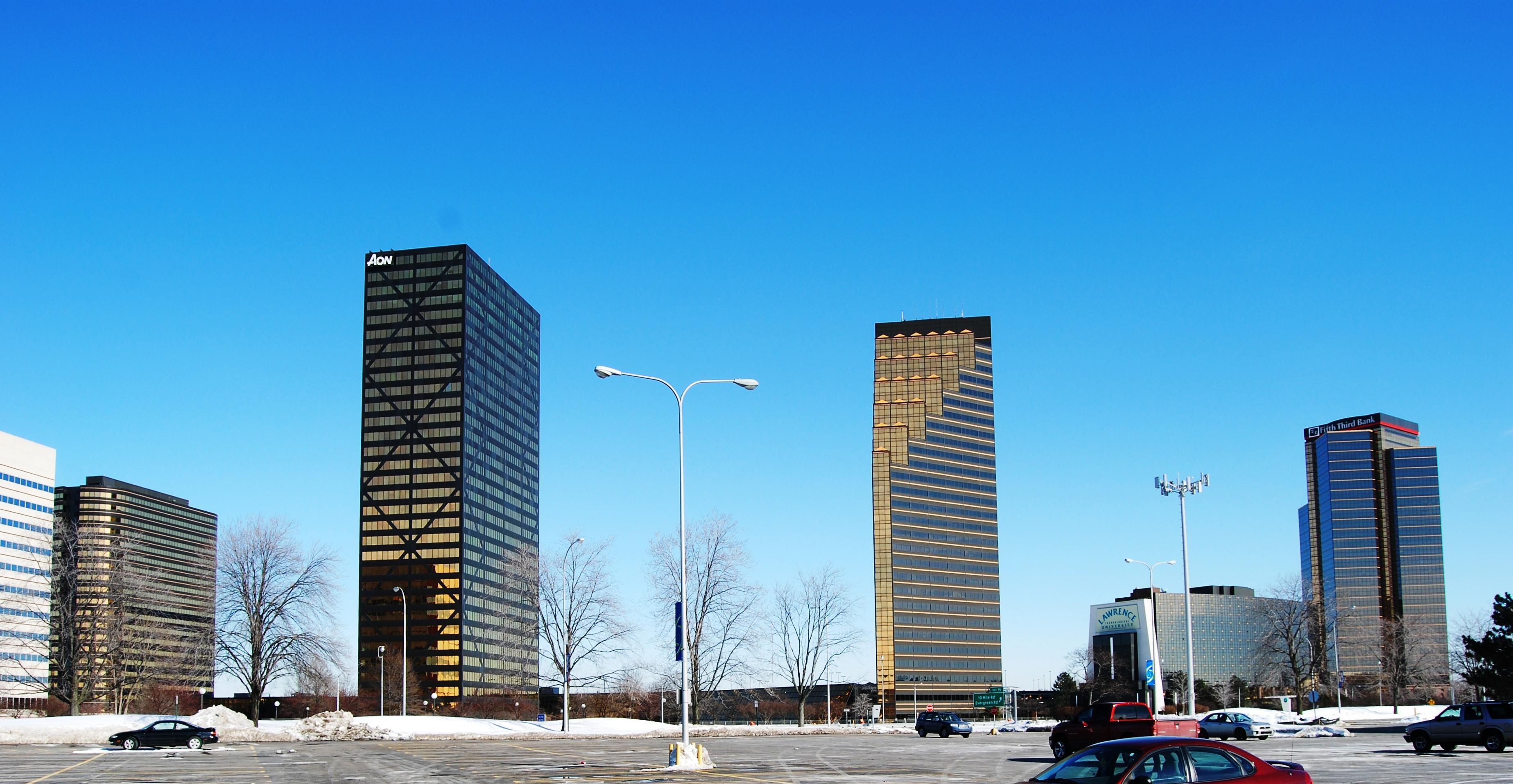 City Center Building Troy Mi