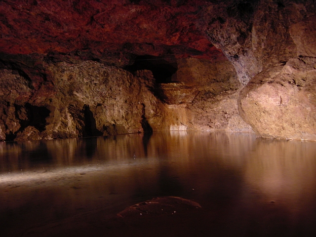 File:Subterranean lake Clearwell Caves - geograph.org.uk - 1794.jpg