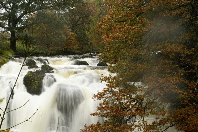 Swallow Falls - geograph.org.uk - 1006761