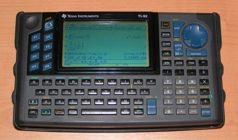 TI-92 series - Wikipedia