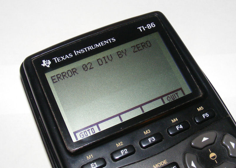 TI86 Calculator DivByZero 9 Tips for Summer Test Prep