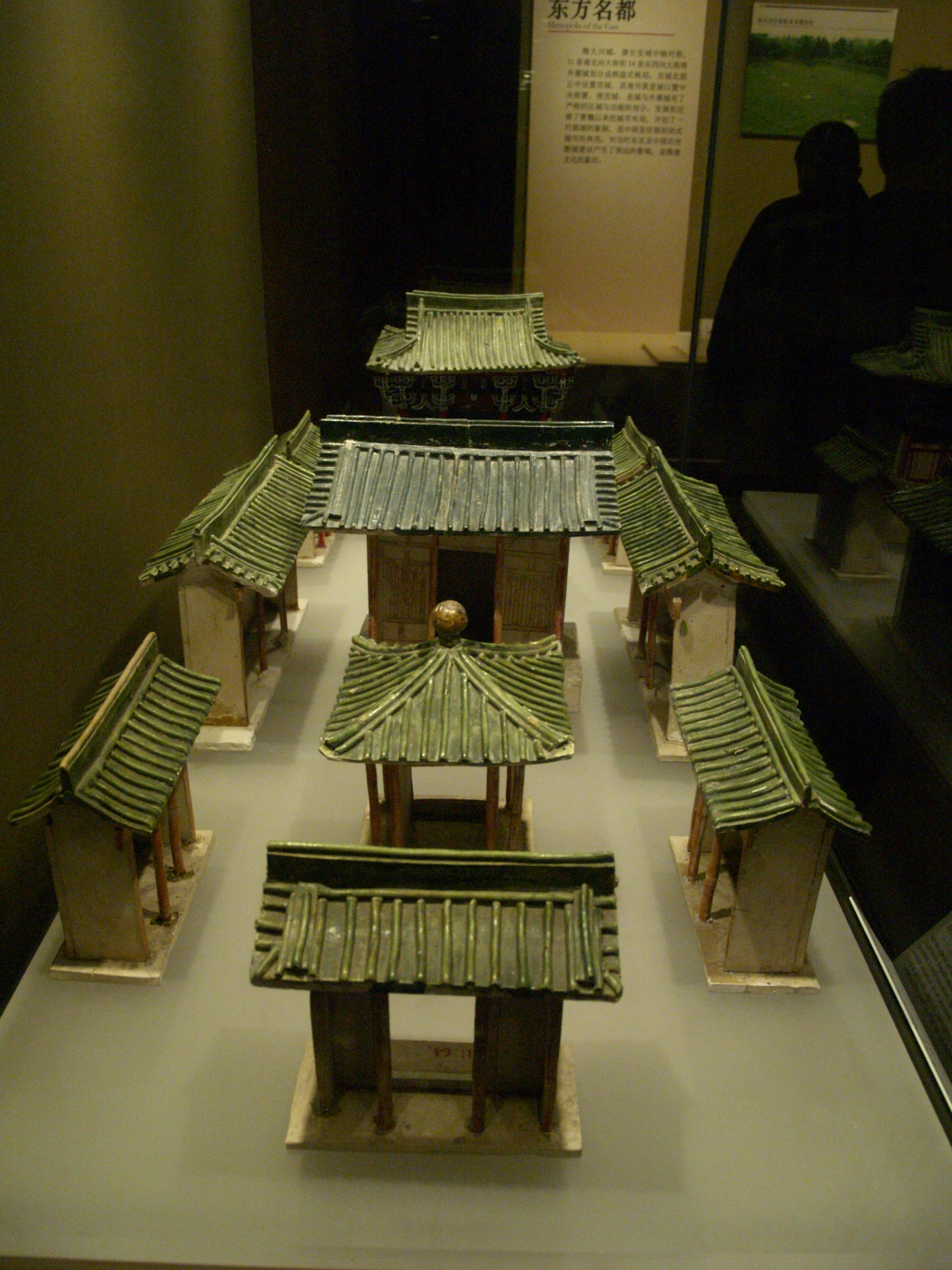 how to make a great wall of china model