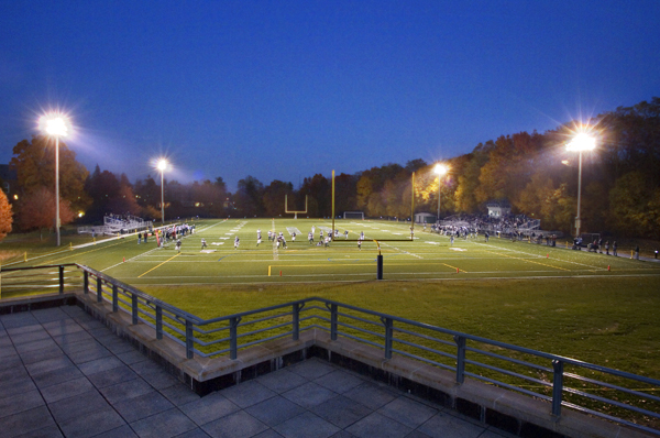 synthetic turf football fields