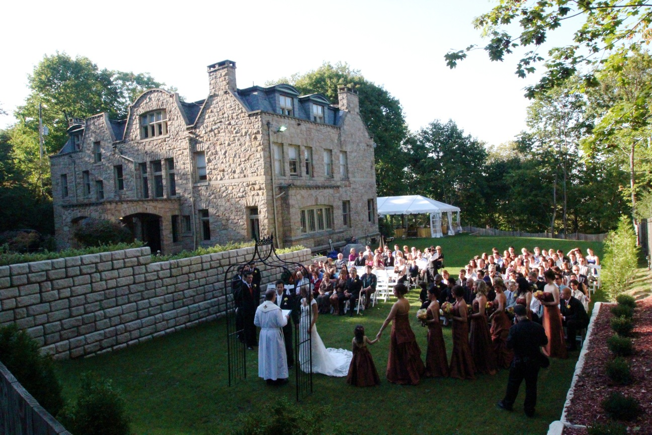 Mansion Backyard Wedding : Description The Mansion Outdoor weddingjpg