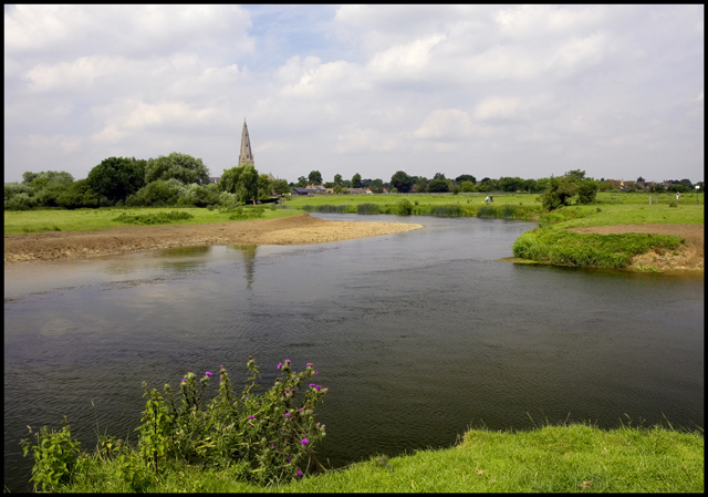 The River Great Ouse at Olney - geograph.org.uk - 1535280