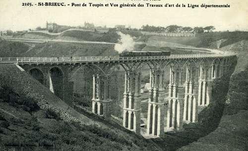 """Saint-Brieuc Le viaduc de Toupin sera-t-il restauré """"dans les règles de l'art"""" ?"""