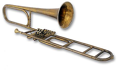 Double Contrabass Trombone a Valved Contrabass Trombone