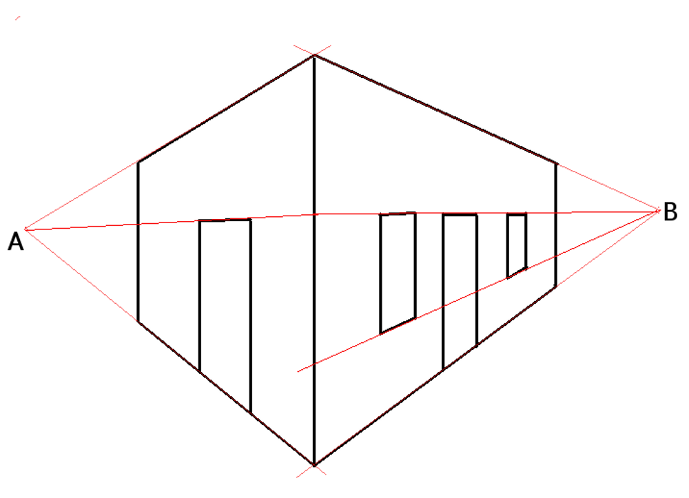 Scribble Drawing Definition : File twopointperspective wikimedia commons