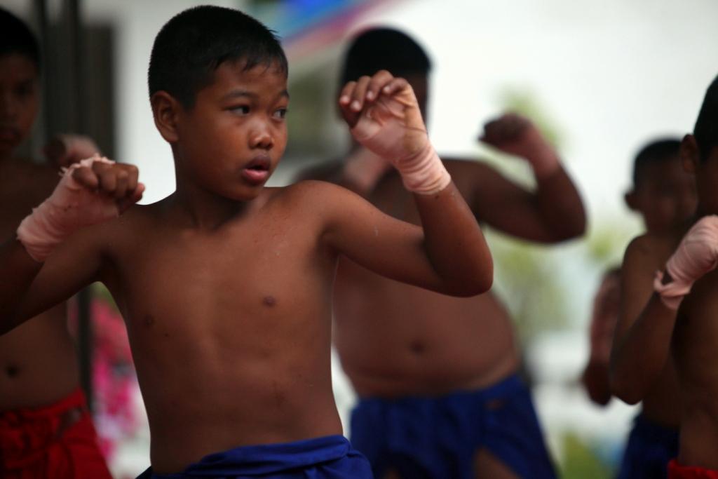 Image result for muay thai children