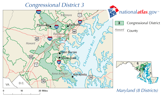 Maryland Representative District Map Swimnovacom - Us representative district map