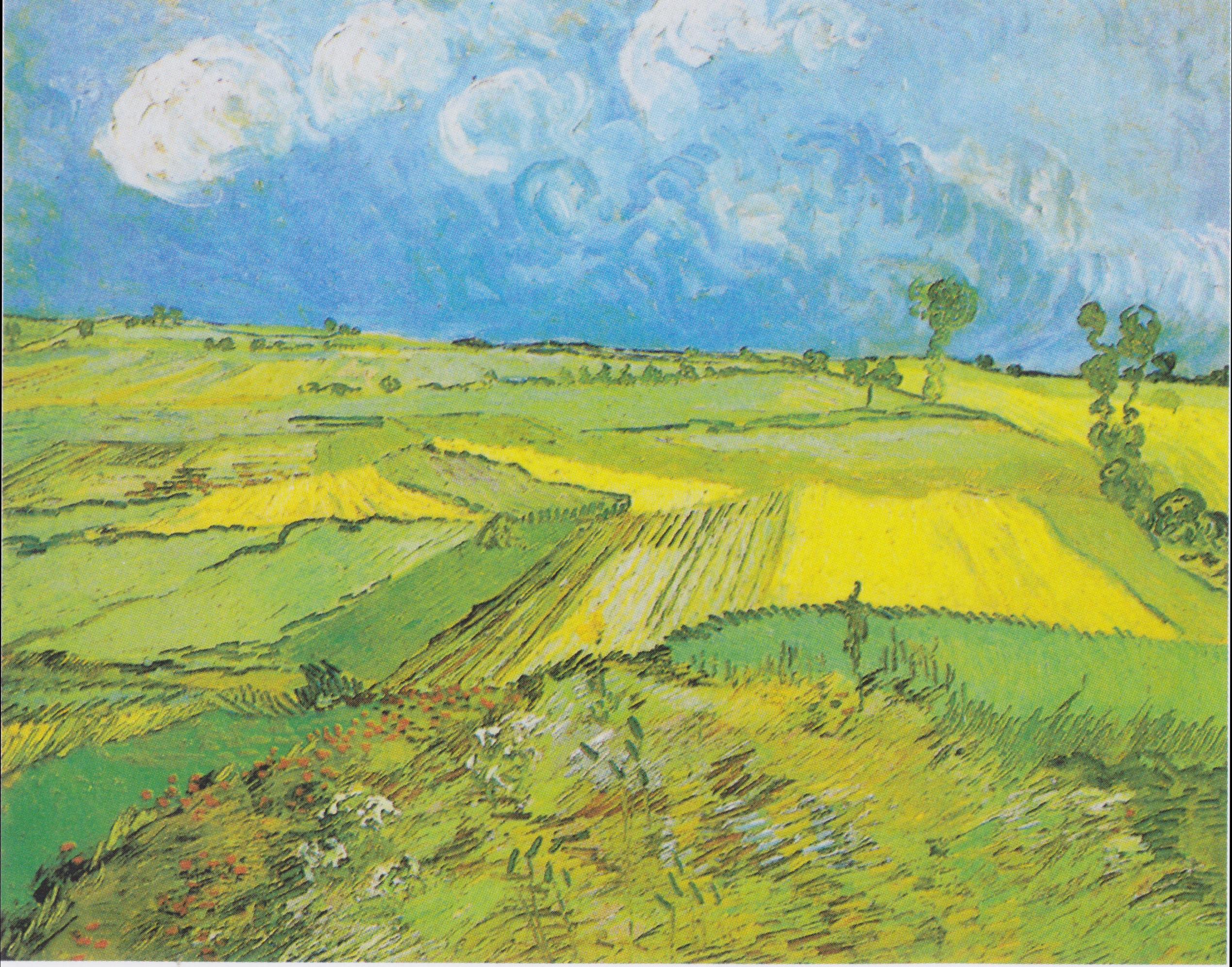 Van Gogh Famous Landscape Paintings