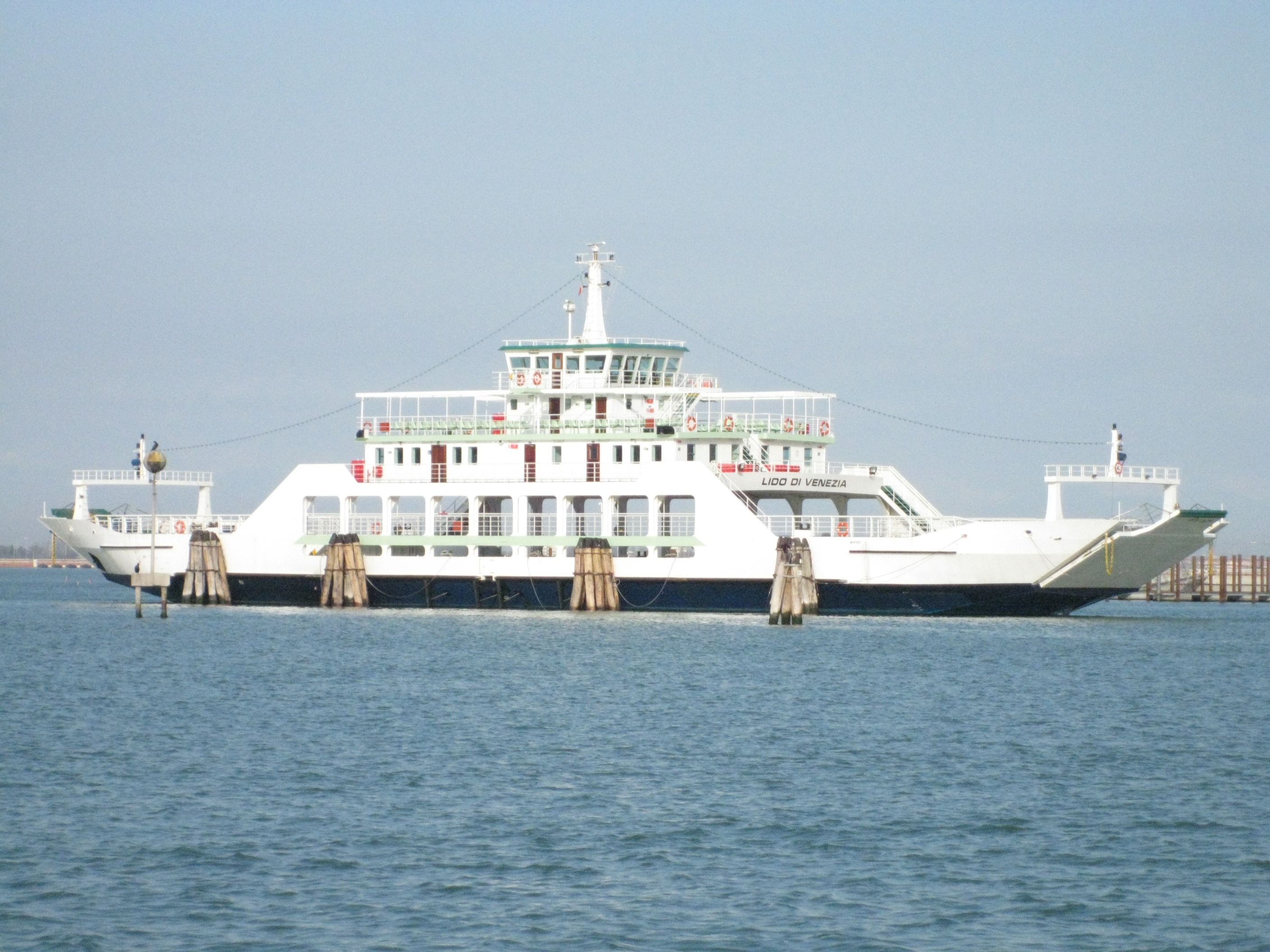 Ferry Boat To Mackinac Island Mi