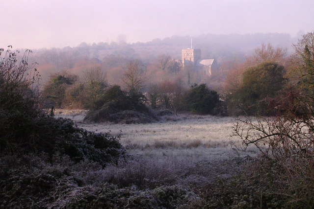 File:View across the water meadows towards St Cross - geograph.org.uk - 1072500.jpg