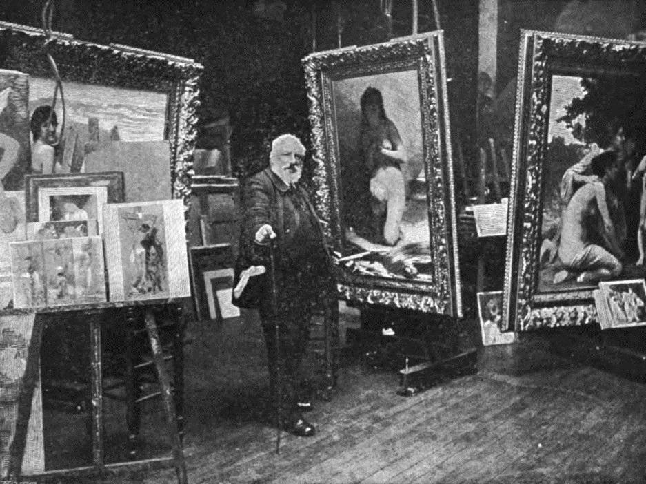 File:WILLIAM Bouguereau in his Studio.jpg