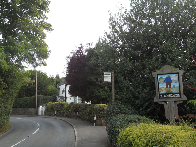 Welcome to Belbroughton - geograph.org.uk - 2050218