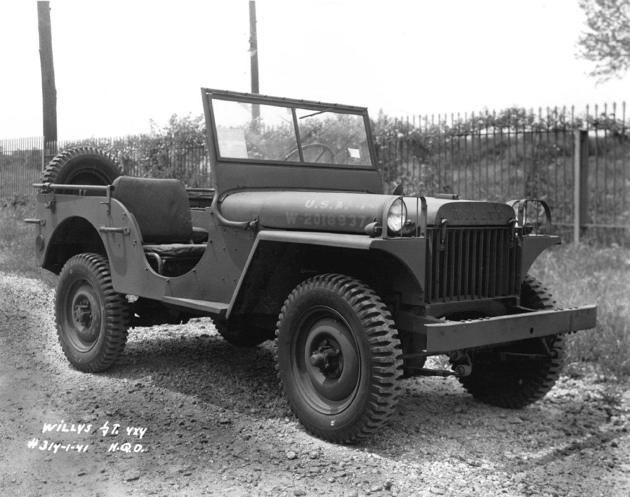 Willys Mb Wikipedia 1941 Jeep Pickup Trucks Ma