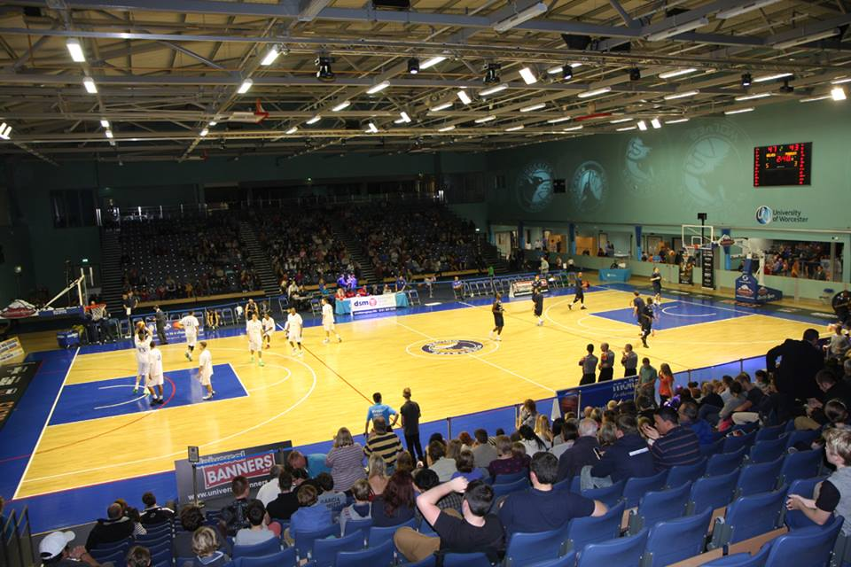 University of Worcester Arena - Wikipedia