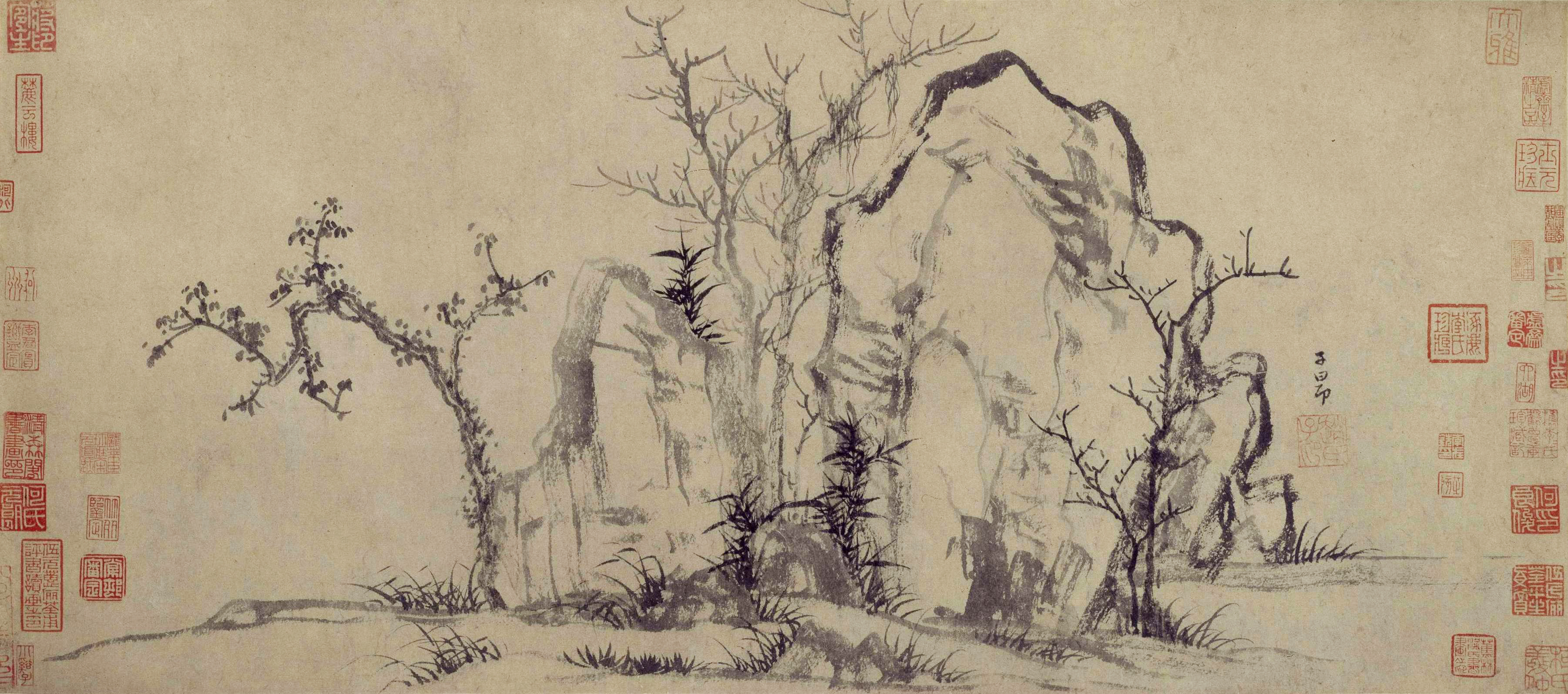 http://upload.wikimedia.org/wikipedia/commons/f/f5/Zhao_Meng_Fu_Elegant_Rocks_and_Sparse_Trees.jpg