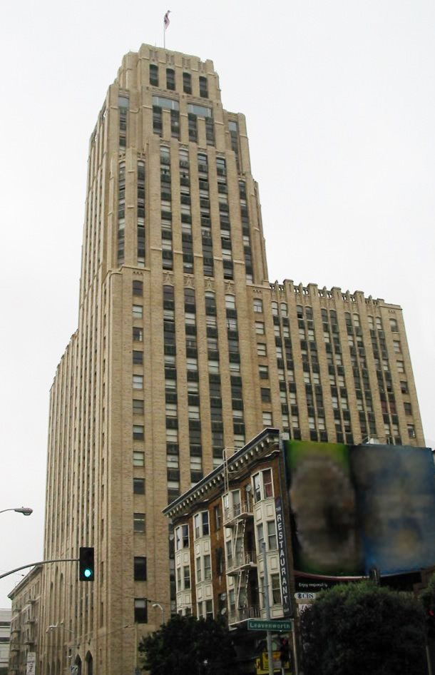 San Francisco Law School >> McAllister Tower Apartments - Wikipedia