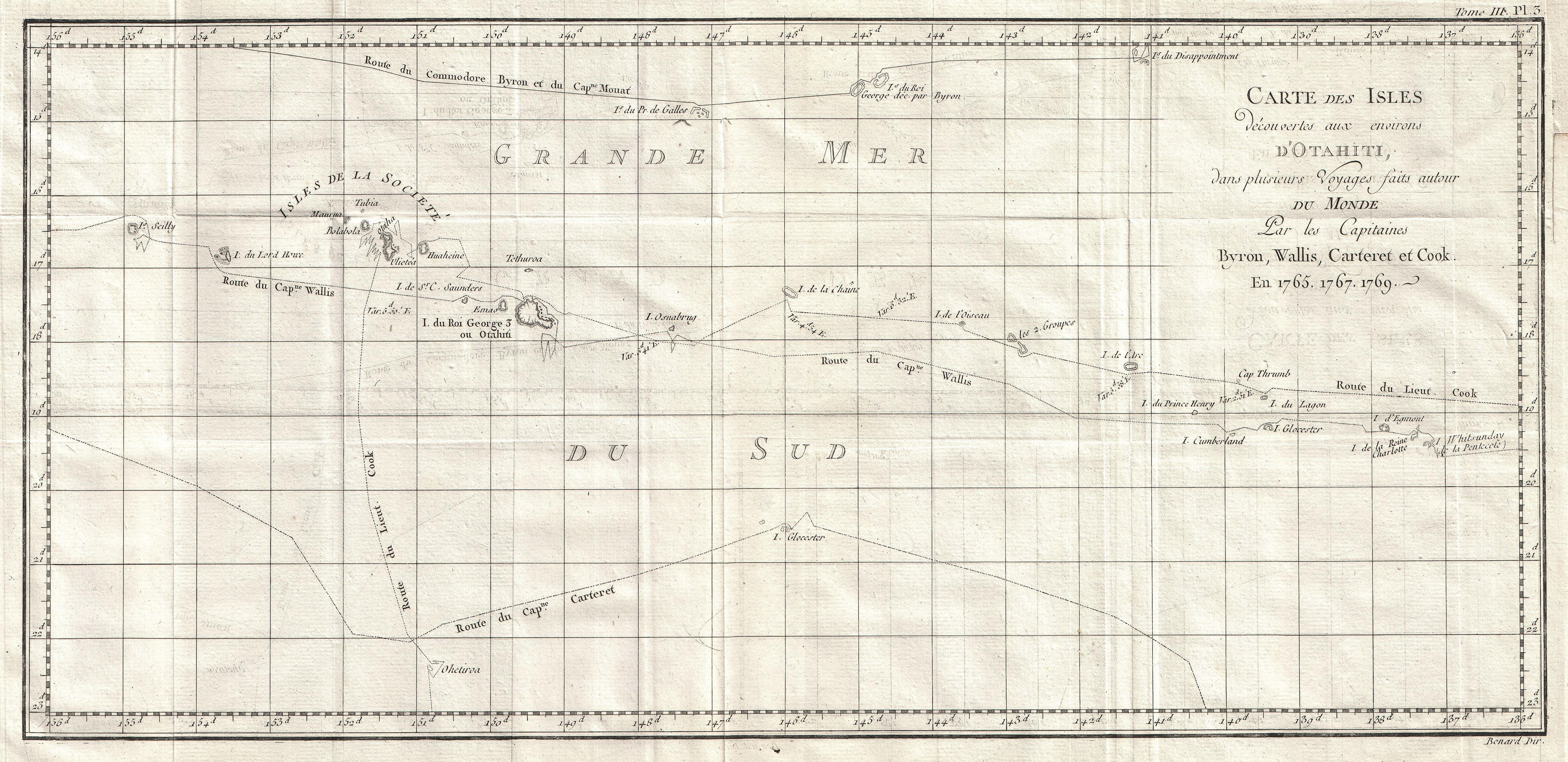 File:1769 Cook Map of Tahiti, the Society Islands, and the ... on vintage map of southeast asia, vintage map of costa rica, vintage map of caribbean,